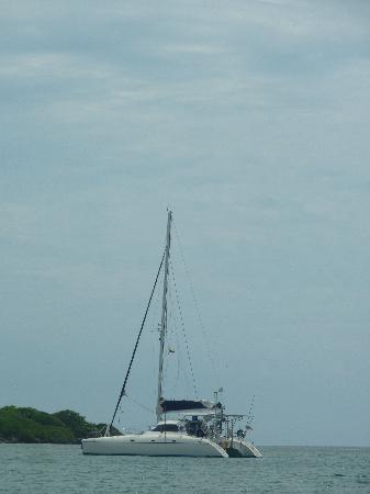 Kanowa Travel: nuestro catamaran!!! el caro blue!!