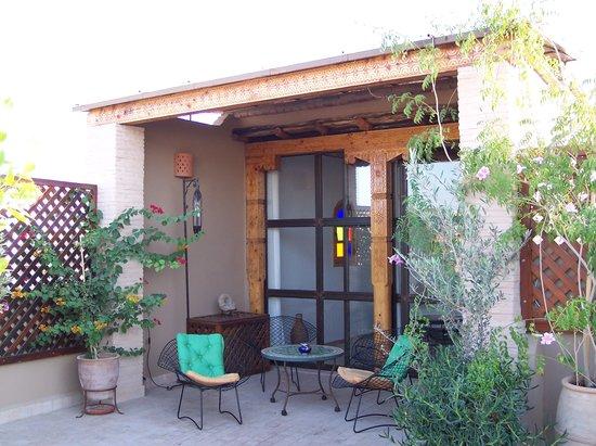 Riad Maia: Roof Terrace Hideaway!