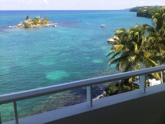 Couples Tower Isle: This is a view from the room