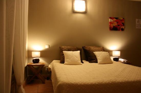 Hôtellerie Kouros : la chambre Rhodes