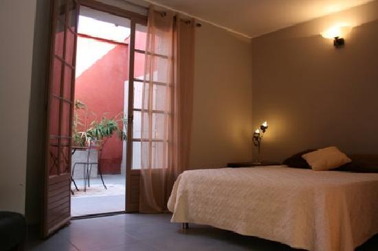 Hôtellerie Kouros : Chambre Patio