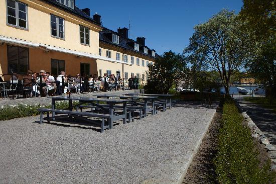 Hotel Skeppsholmen: Terrace