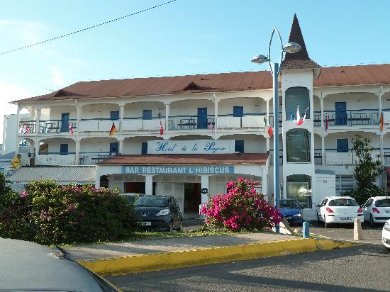 Hôtel La Pagerie : Entrée principale de l'hôtel