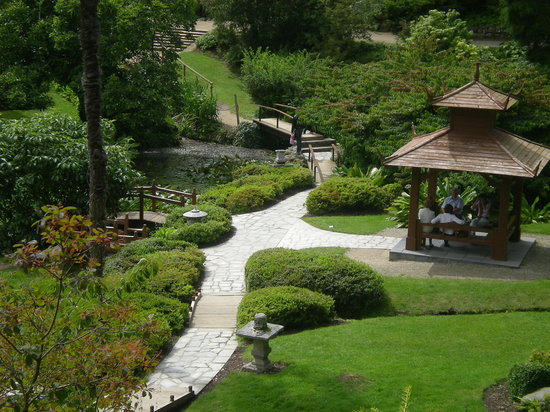 Enniskerry, Irland: Japanese Gardens from up high