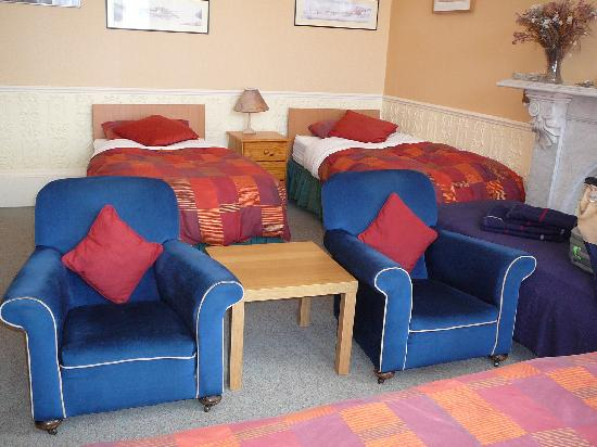 Priestville Guest House: Part of our large room