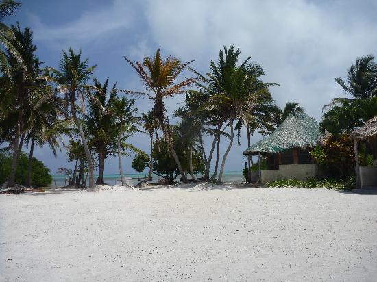 Costa de Cocos: beach and cabanas