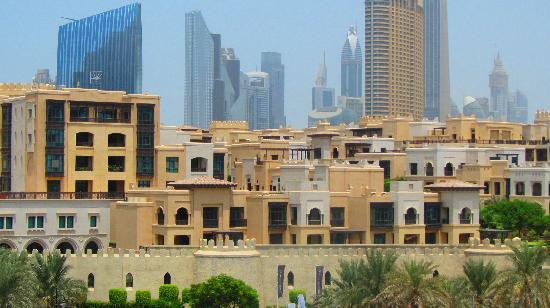 Manzil Downtown Dubai: The view from my hotel room....sorry, my camera wasn't good enough to get the Burj Khalifa but I