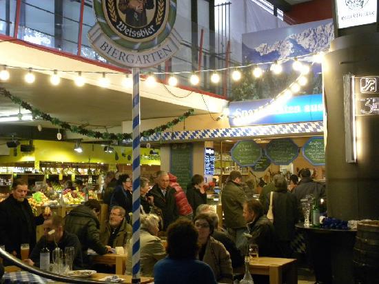 Bayerischer Biergarten Markthalle Hannover