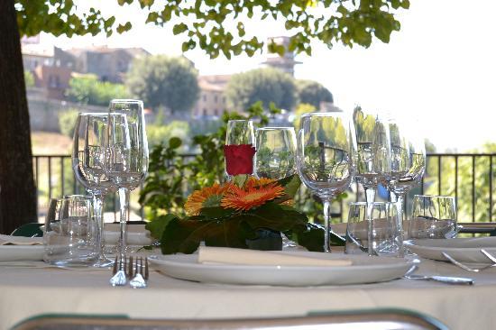 Hotel Umbria : giardino