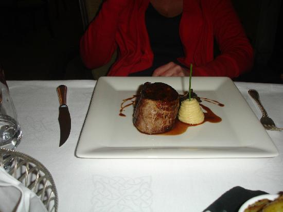 Mount Juliet Estate Kilkenny : Fillet Steak to die for