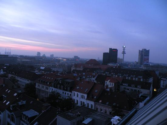Cityhotel Konigstrasse: view over the city