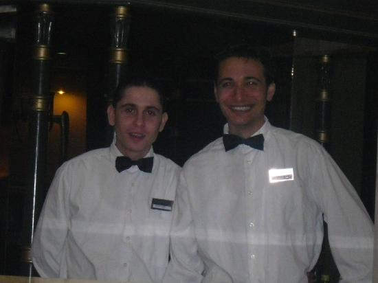 Riadh Palms Hotel: ZIAD and GAZI,Bar Waiters