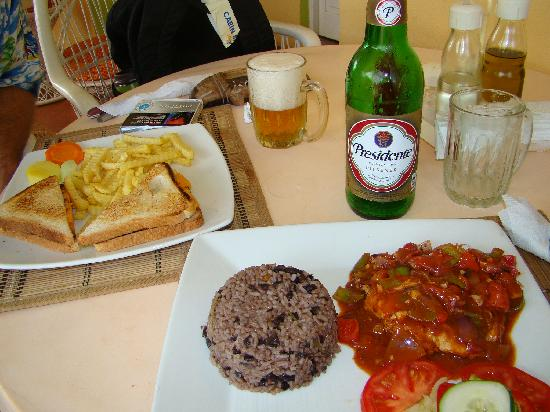 Grand Paradise Samana : Amazing lunch from Gri Gri in Las Galeras