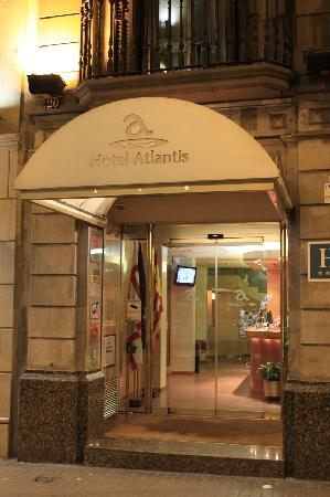 Hotel Atlantis: entrata