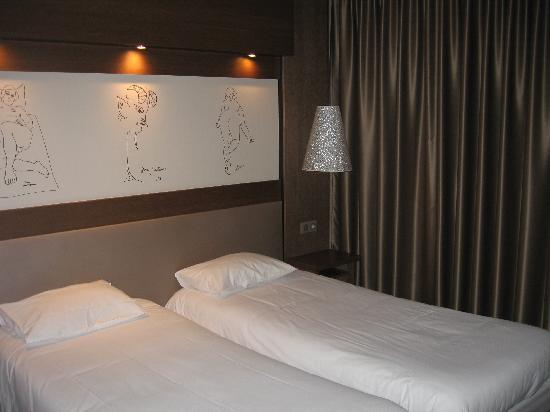 Safari Hotel: le lit