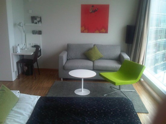 "Scandic Hotel Opalen: ...with sofa and ""lounge area"""