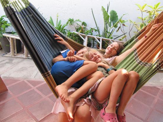 Hotel Patrick: Happy in hammock
