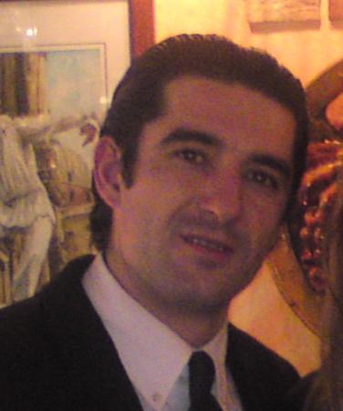 Agli Artisti da Piero : Antonio Bandera, alias Luca, le serveur.