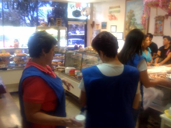 El Recreo Bakery: The two sisters Leticia and Teresa always give us great service...
