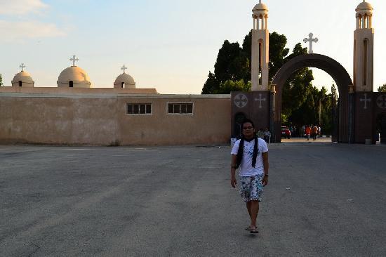 Wadi Natrun: entrance