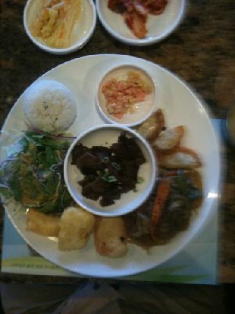 Garlic & Ginger : Kalbi lunch special