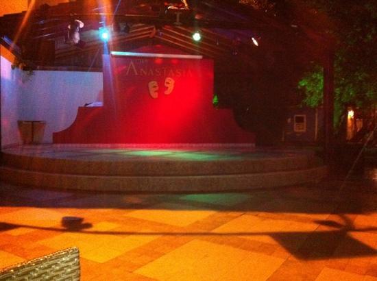 Club Anastasia: where the entertainment was