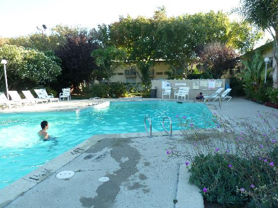 Pool at Rose Garden Inn