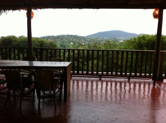 Onsea House Arusha: view from patio