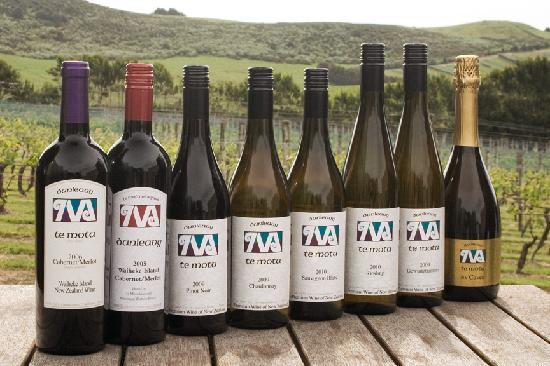 The Shed Te Motu : The Full range of Te Motu Wines