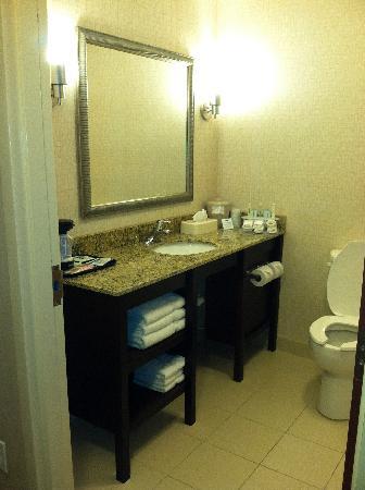 Holiday Inn Express Hotel & Suites Jacksonville - Mayport / Beach: bathroom