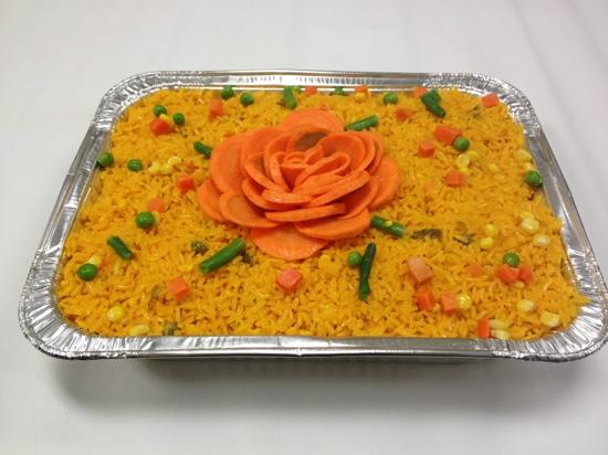 La Fogata Latin eatery & Bistro: yellow rice for catering