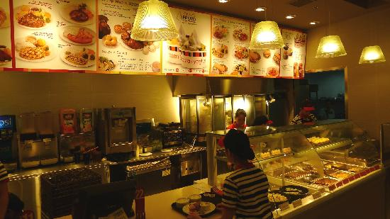 Where you order - Picture of Kenny Rogers Roasters, Manila ...