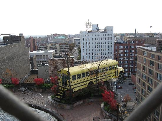 View On The Roof Picture Of City Museum Saint Louis