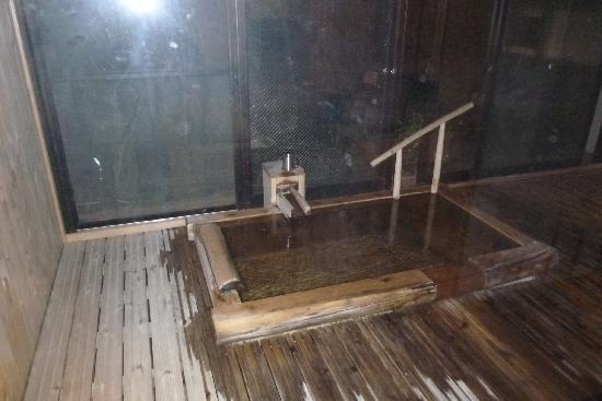 Kannon Onsen: 風呂付きの部屋で気持ちよかった。