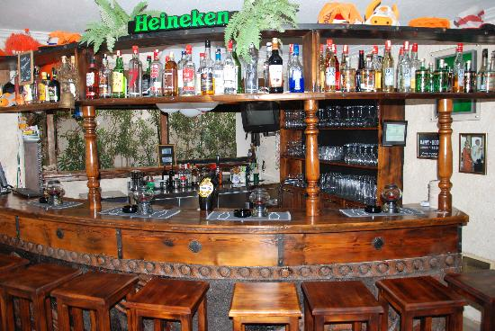 Conny's Hotel: Bar with lot's of animation