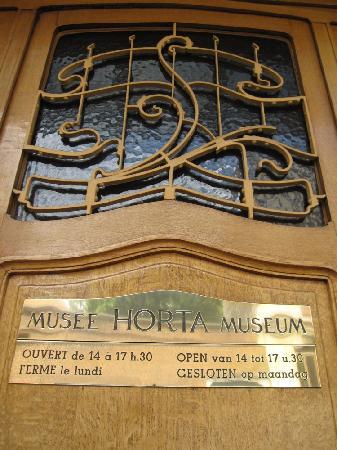 Horta Museum (Musee Horta): HORTA の目印