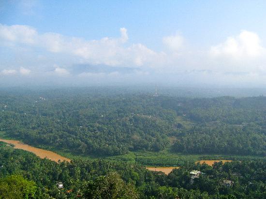 Kandy Panorama Resort: Ausblick vom Balkon