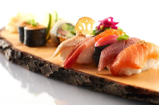 East West -Sushi, Grill, Lounge: Our sushi - only ecologically sustainable ingredients.