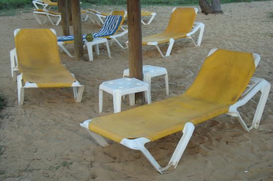Iberostar Bahia: hamacas deterioradas y con mal aspecto