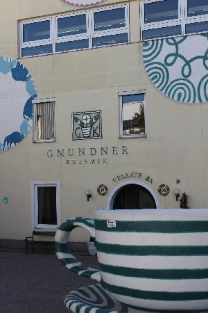 Eingang Gmundner Keramik