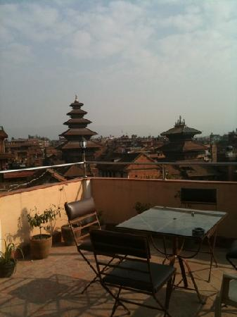 Himalaya Guest House : view from roof top