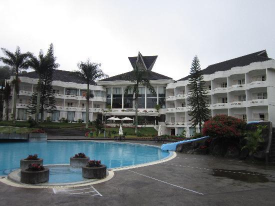 Grand Mutiara Hotel Berastagi: Beautiful scenery