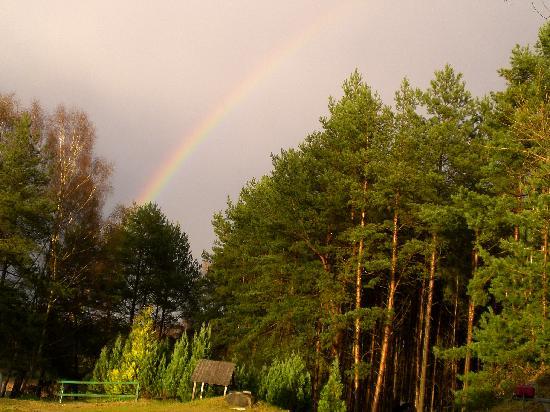 Ferienpark Pelzkuhl: Regenbogen in Pelzkuhl