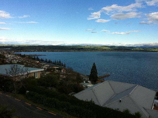 The Landing: View of Hawke's Bay from the Bayview Suite