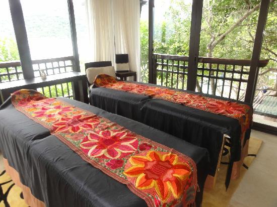 Banyan Tree Cabo Marques: Massage room.