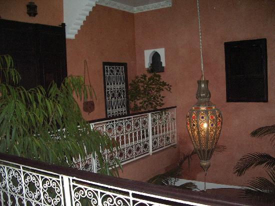 Riad Picolina: priemr piso zona habitaciones