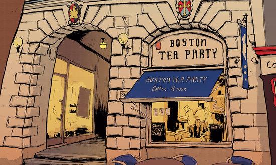 Boston Tea Party Exeter