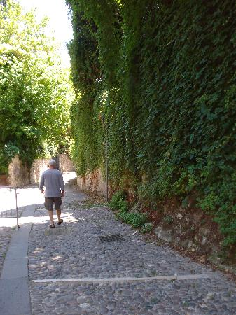 Casa Baldo B&B : Walking to the old city of Verona