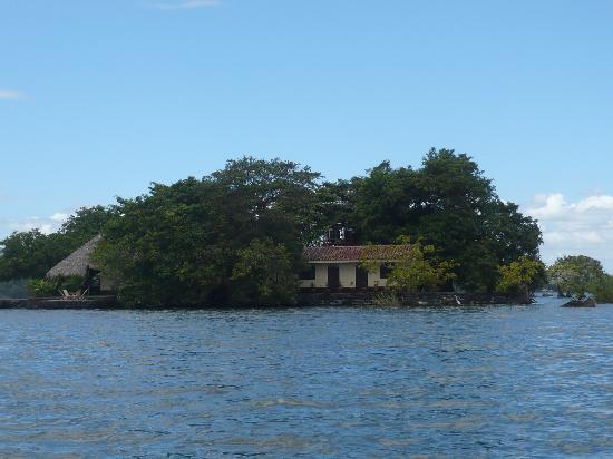 Isletas El Roble: l'arrivée sur l'ile....