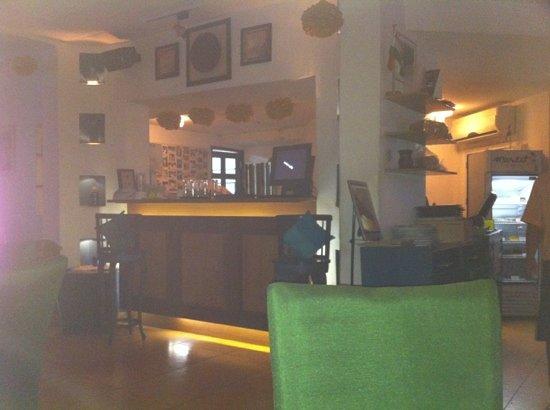 Market Cafe: the inside bar